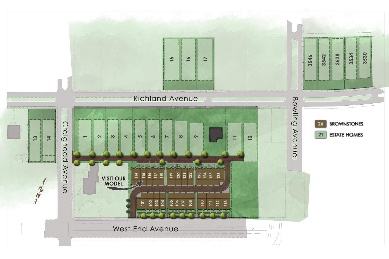 Richland Hall Siteplan